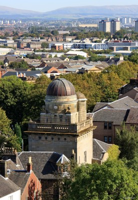 Coats Observatory in Paisley