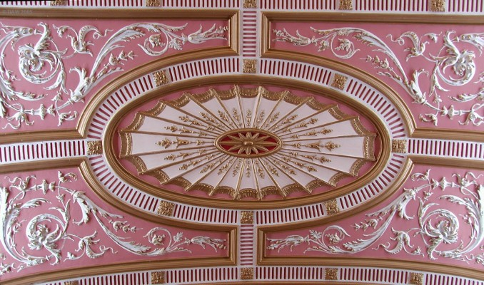 Ornate Plaster Ceiling Glasgow City Chamber